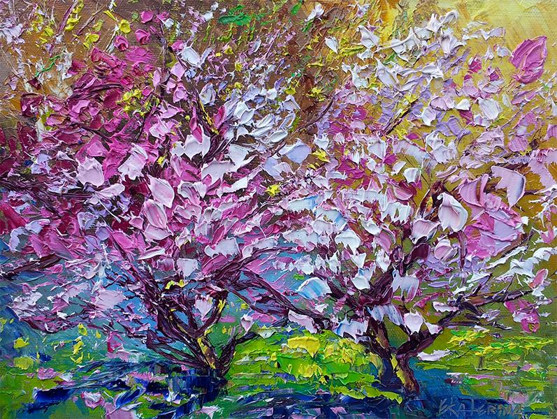 Magnolia5 artist Ekaterina Chernova