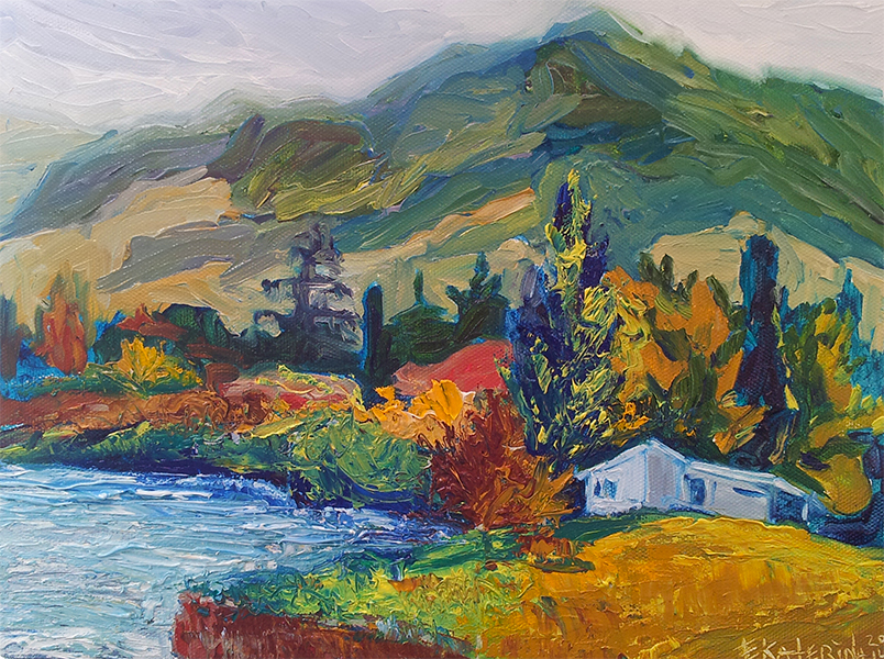 karapiro art Ekaterina Chernova